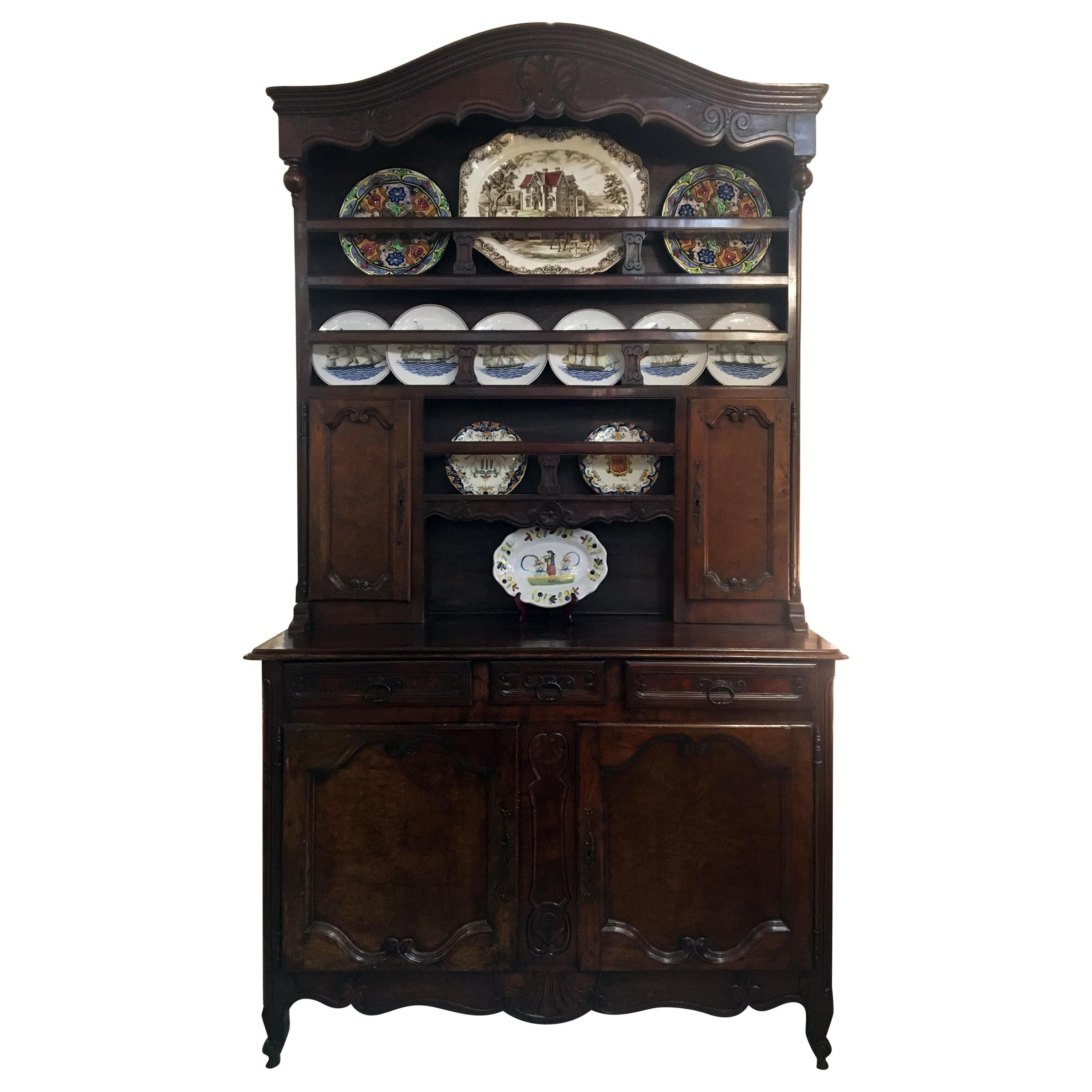 19th Century French Louis XV Style Cupboard