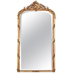 19th Century French Louis XV Style Mirror Napoleon III, France
