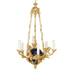 19th Century French Louis XV Style Ormolu Chandelier