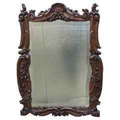 19th Century French Louis XV Wall Mirror