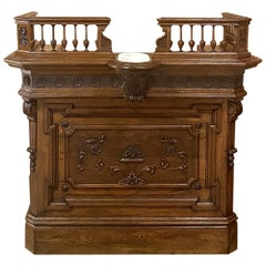 19th Century French Louis XVI Concierge Counter