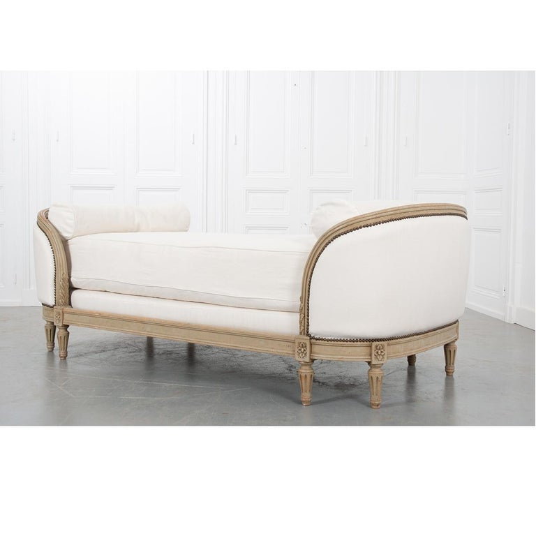 19th Century French Louis XVI Daybed For Sale 6