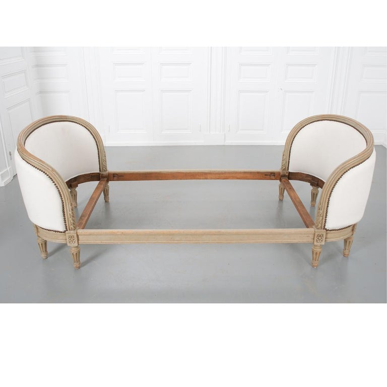 19th Century French Louis XVI Daybed For Sale 8
