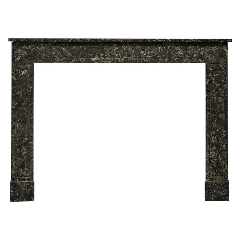 19th Century French Louis XVI Fireplace Mantel For Sale