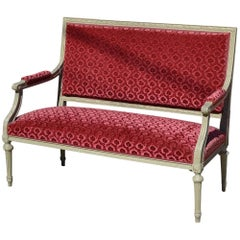 19th Century French Louis XVI Settee