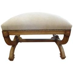 19th Century French Louis XVI Style Bench