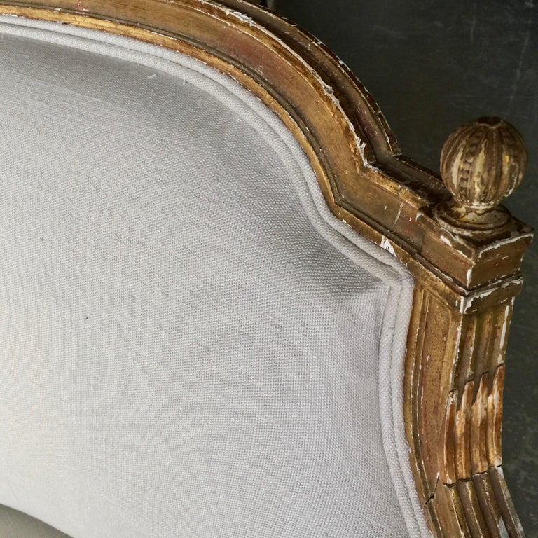 19th Century French Louis XVI Style Canapé For Sale 1