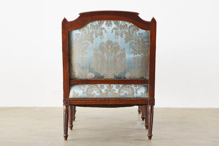 19th Century French Louis XVI Style Chaise Lounge Daybed For Sale 15