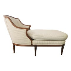 19th Century French Louis XVI Style Chaise Lounge, Sofa or Daybed