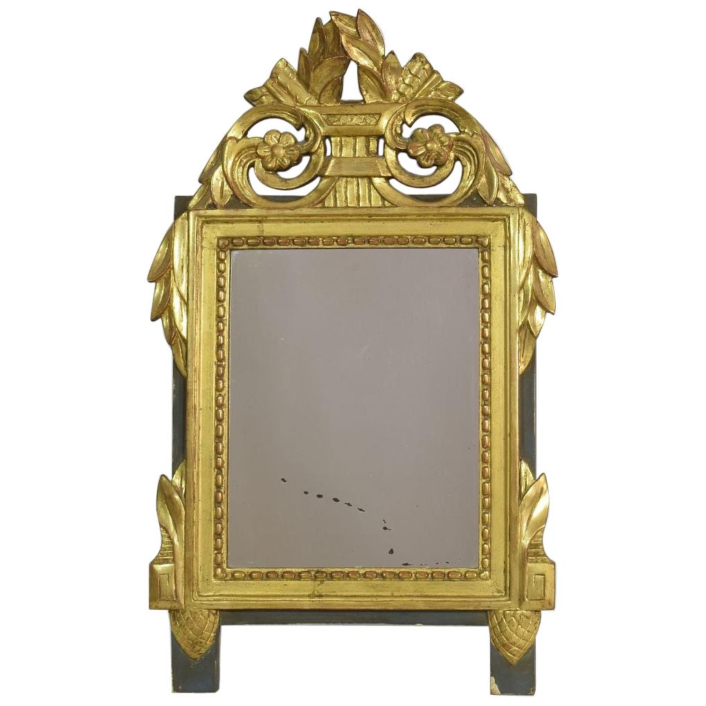 19th Century French Louis XVI Style Giltwood Mirror
