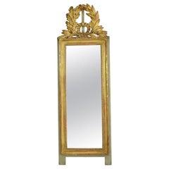 19th Century French Louis XVI Style Giltwood Mirror
