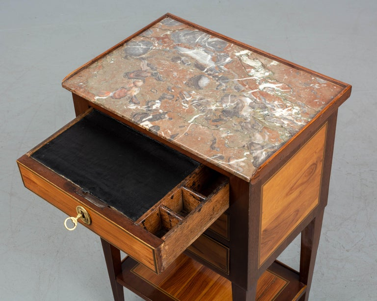 19th Century French Louis XVI Style Side Table For Sale 5