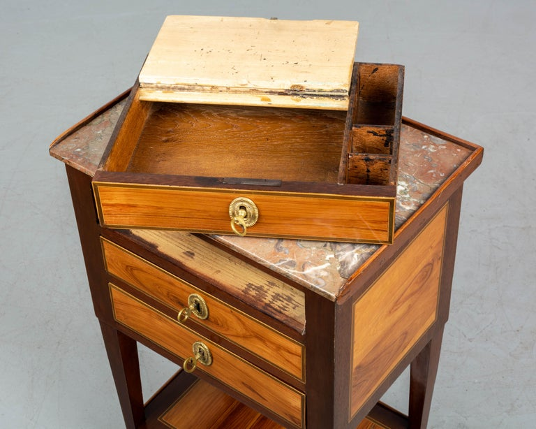 19th Century French Louis XVI Style Side Table For Sale 7