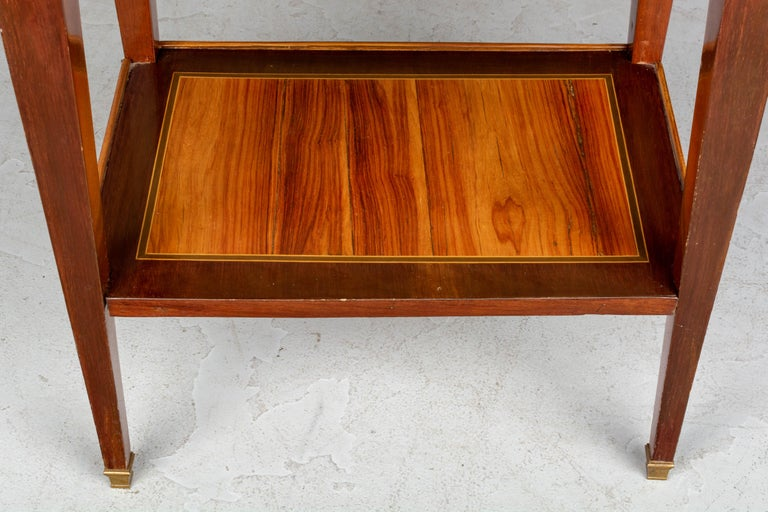 19th Century French Louis XVI Style Side Table For Sale 9