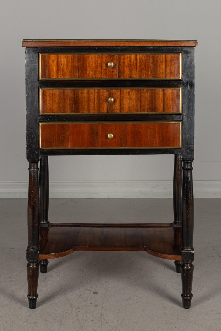 Hand-Crafted 19th Century French Louis XVI Style Side Table For Sale