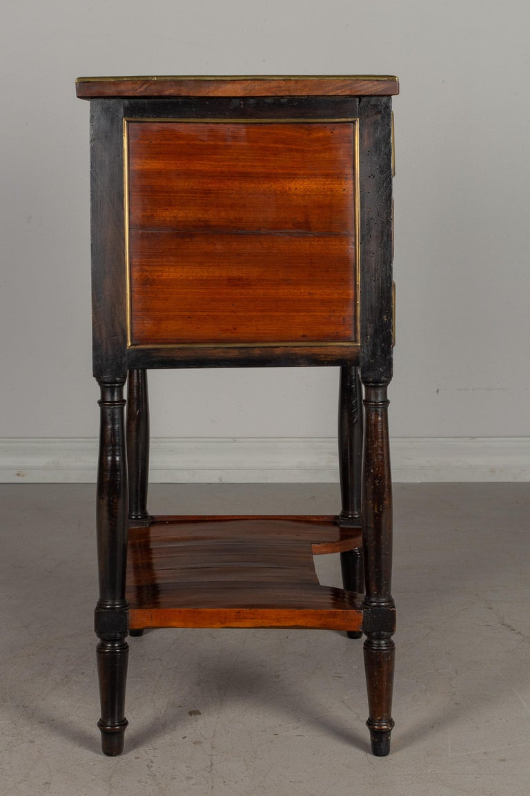 Mahogany 19th Century French Louis XVI Style Side Table For Sale