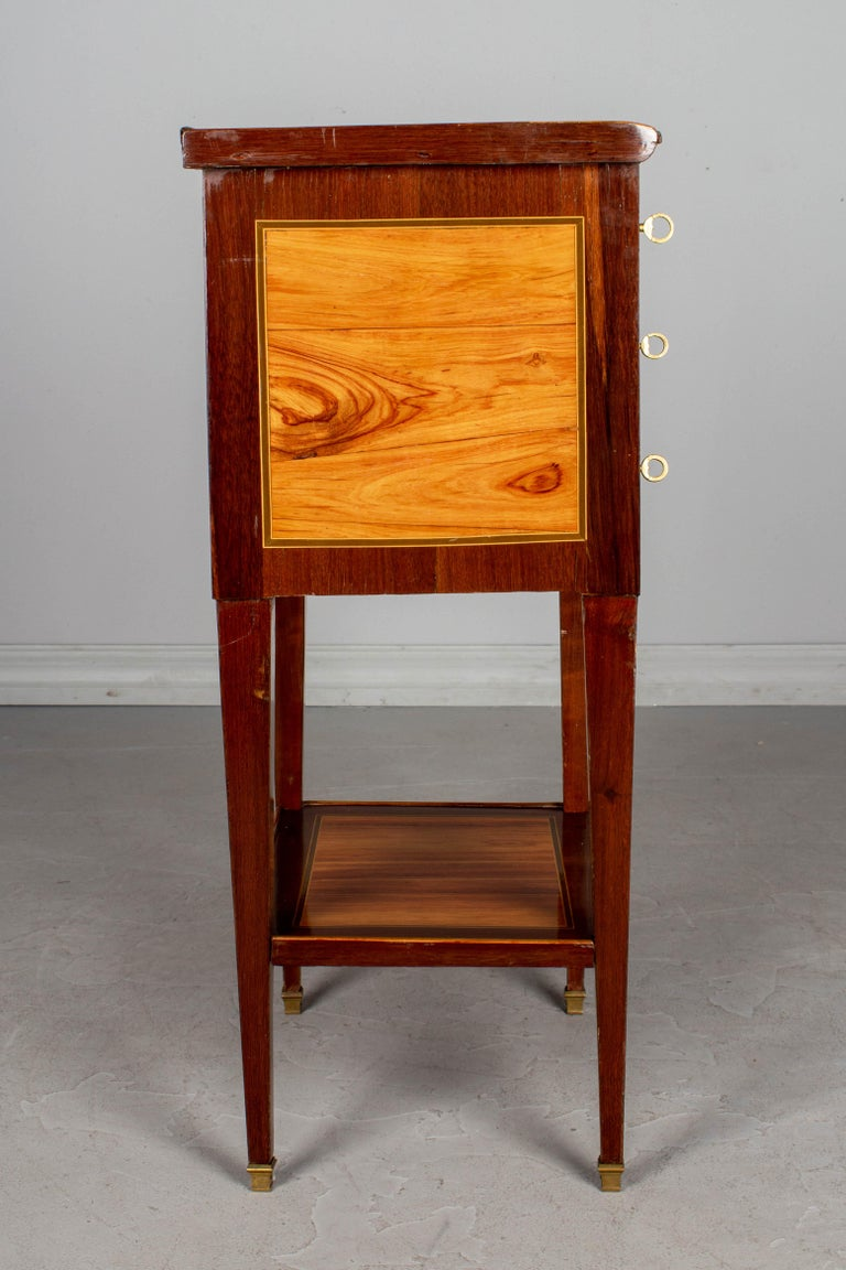 Tulipwood 19th Century French Louis XVI Style Side Table For Sale