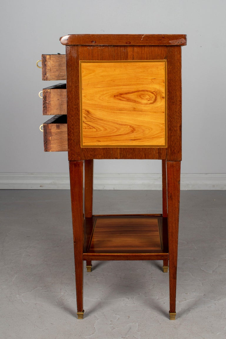 19th Century French Louis XVI Style Side Table For Sale 3