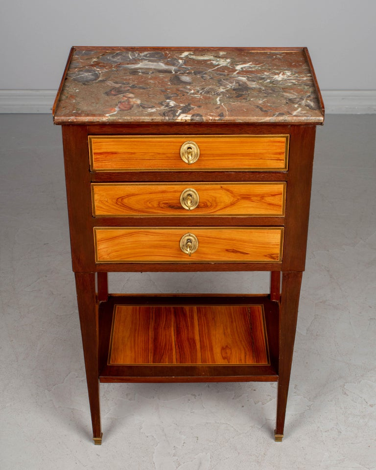 19th Century French Louis XVI Style Side Table For Sale 4