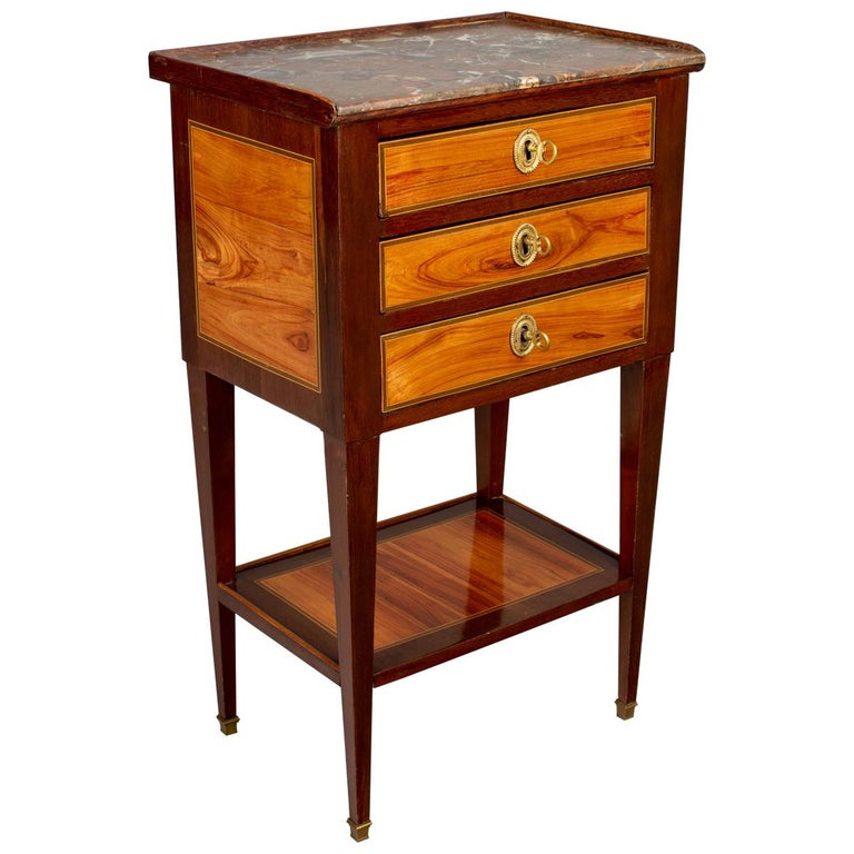 19th Century French Louis XVI Style Side Table For Sale
