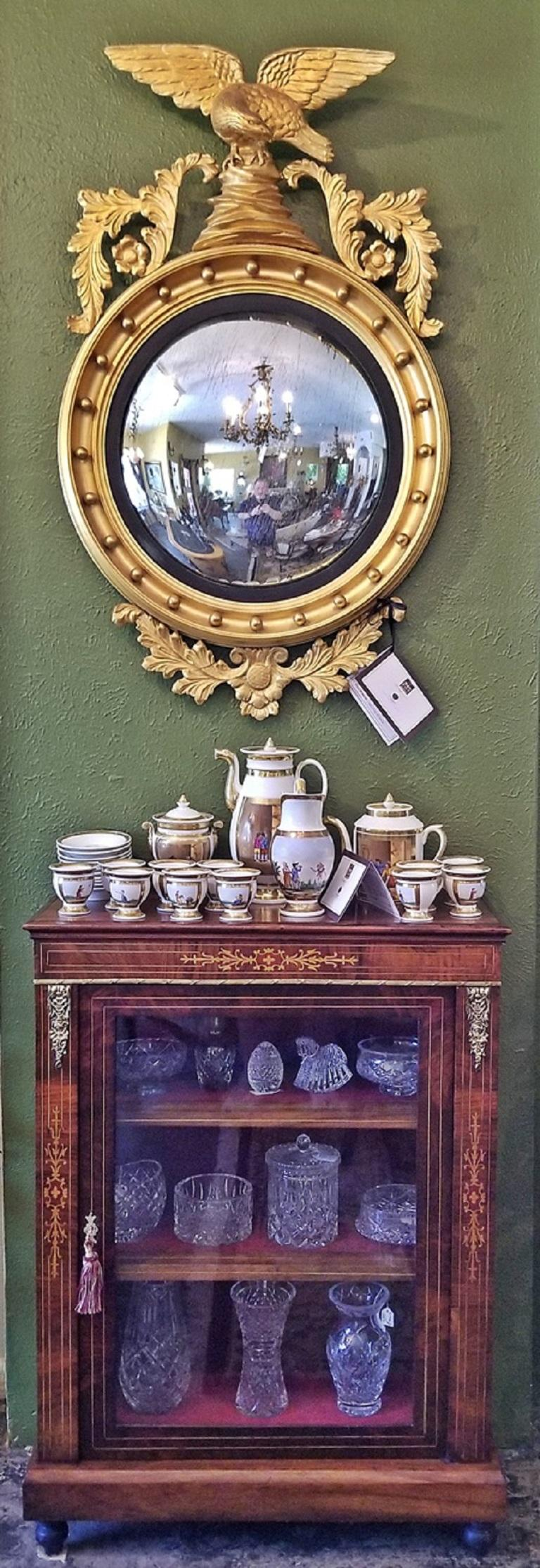 19th Century French Louis XVI Style Vitrine For Sale 6