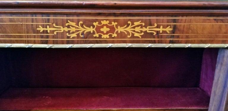 Ormolu 19th Century French Louis XVI Style Vitrine For Sale