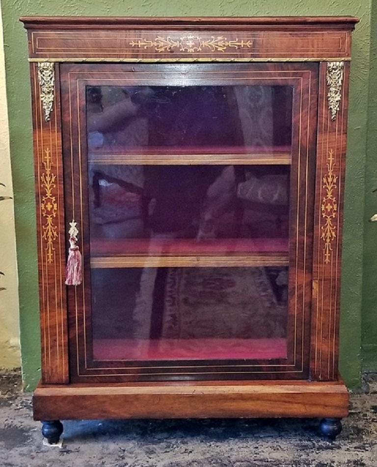 19th Century French Louis XVI Style Vitrine For Sale 3