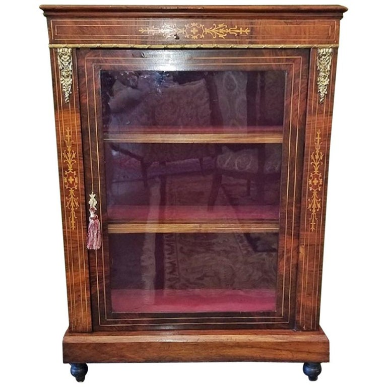 19th Century French Louis XVI Style Vitrine For Sale