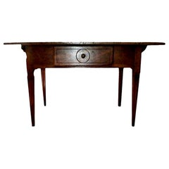 19th Century French Louis XVI Style Walnut Cobbler's Work Table