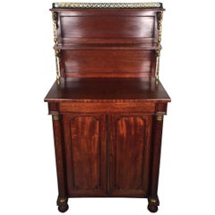 19th Century French Mahogany Chiffonier Server