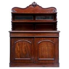 19th Century French Mahogany Chiffonier Sideboard