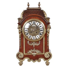 19th Century French Mantel Clock Ormolu Mounted Mantel