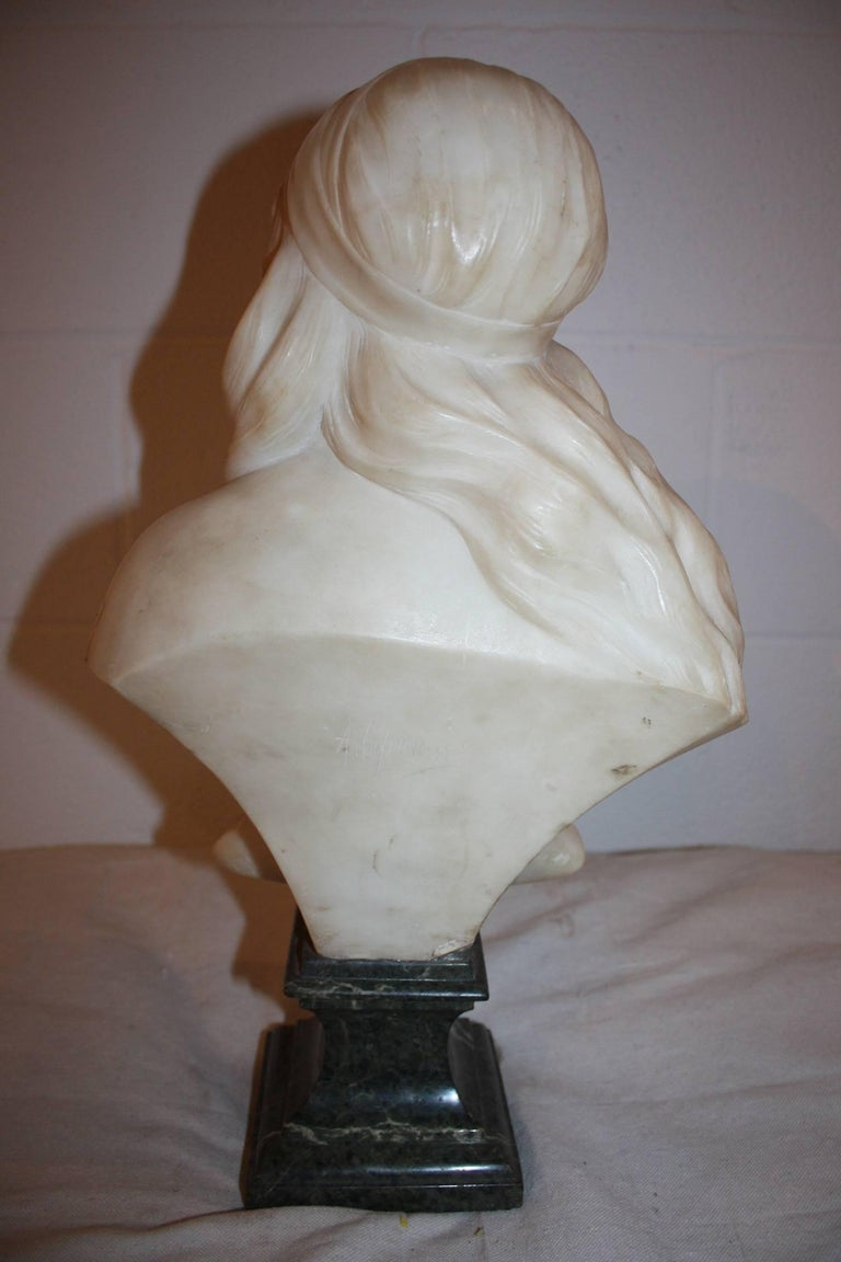 19th Century French Marble Bust For Sale 1