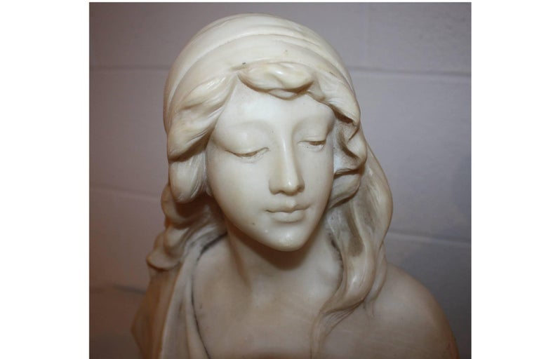 19th Century French Marble Bust For Sale 3
