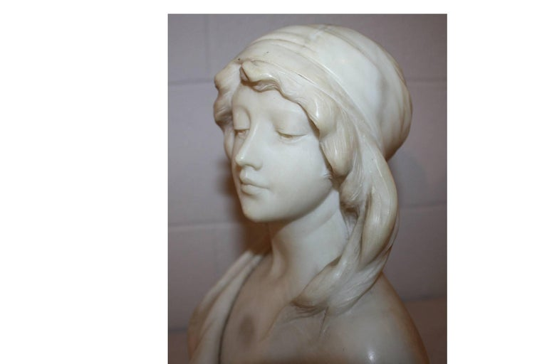 19th Century French Marble Bust For Sale 4