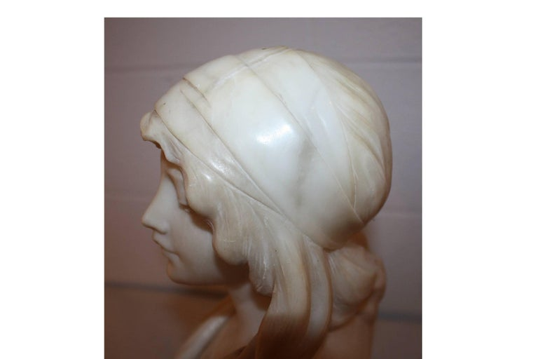19th Century French Marble Bust For Sale 5