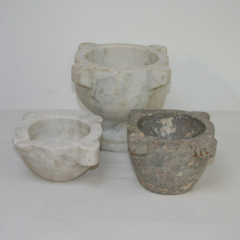 19th Century French Marble Mortar For Sale 2