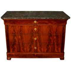 19th Century French Marble-Top Commode