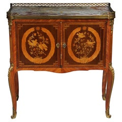 19th Century French Marquetry Dresser Transition, Napoleon III, circa 1870