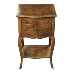 19th Century French Marquetry Stand