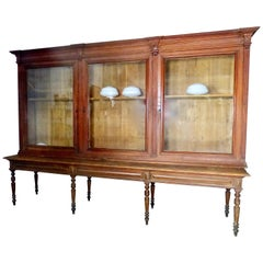 19th Century French Mercantile/Library Cabinet