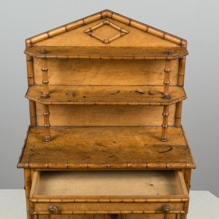 19th Century French Miniature Buffet 3