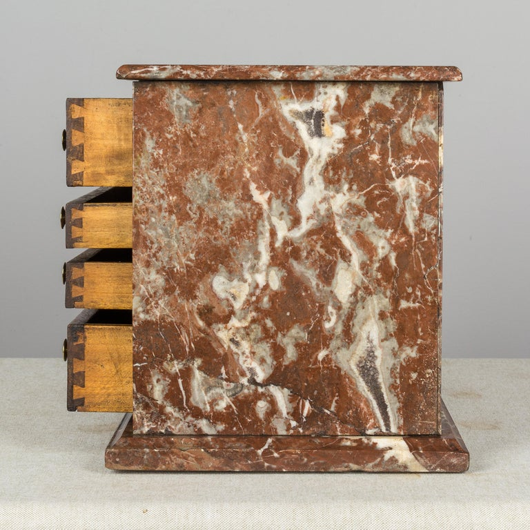 19th Century French Miniature Chest For Sale 2