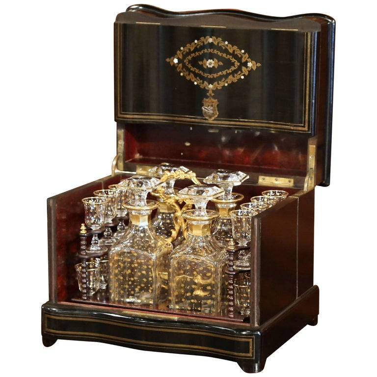 19th Century French Napoleon III Cave A Liqueur With