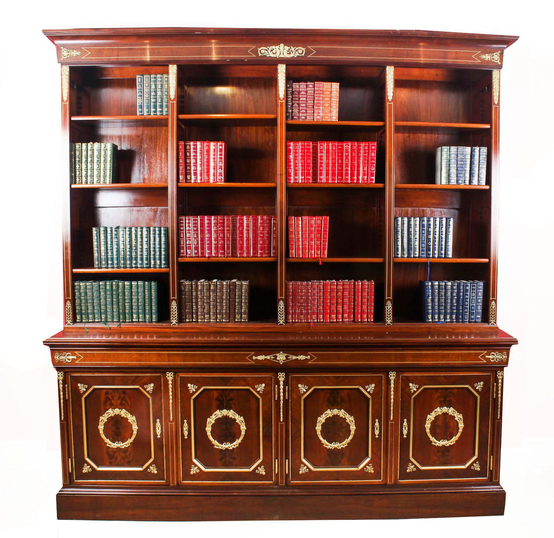 Mahogany Bookshelf