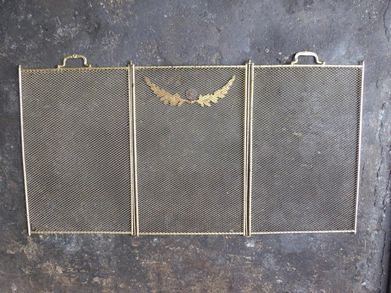19th Century French Napoleon III Fireplace Screen or Fire Screen For Sale 6