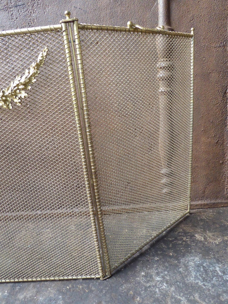 19th Century French Napoleon III Fireplace Screen or Fire Screen For Sale 4