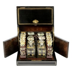 19th Century French Napoleon III Liqueur Cave Box