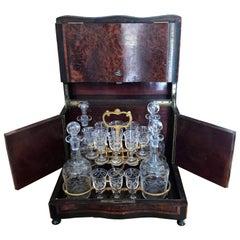19th Century French Napoleon III Period Liquor Cellar, 1850s