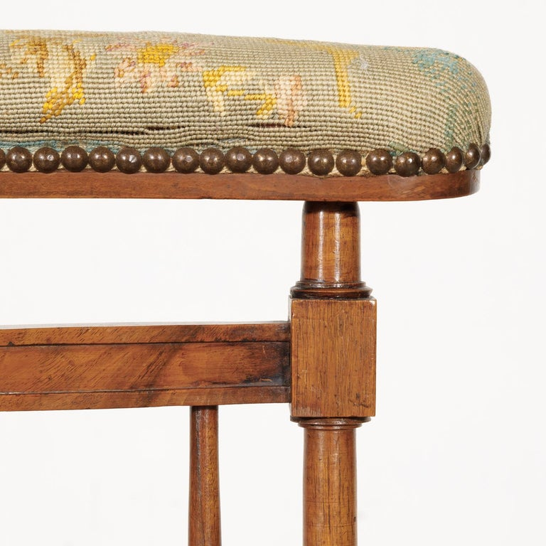 Late 19th Century 19th Century French Napoleon III Period Prie Dieu or Prayer Chair For Sale